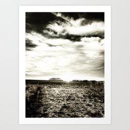 run away. Art Print