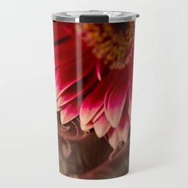 Lace and Pink Travel Mug
