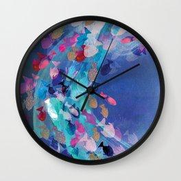 Lucid Lagoon  Wall Clock