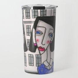 Sœurs à Bruxelles (Sisters in Brussels) Travel Mug