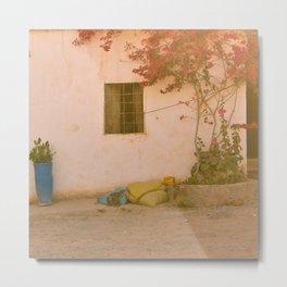 Moroccan Window Metal Print