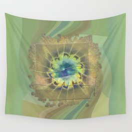 Disfranchises Trance Flowers  ID:16165-032606-04721 Wall Tapestry