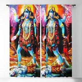 Hindu Kali 19 Blackout Curtain