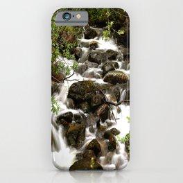 Mountain Creek - Summer Scene #decor #society6 #buyart iPhone Case