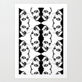 Simplicity is The Intensity (ID274) Art Print
