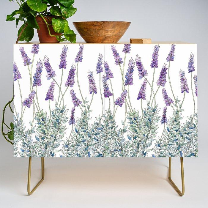 Lavender, Illustration Credenza