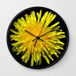 A Dandy Dandelion Wall Clock