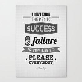 Key to Success Canvas Print