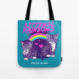 Kittens & Rainbows Tote Bag