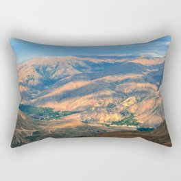 Turkey Mountains Rectangular Pillow