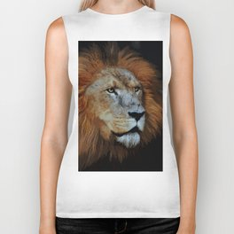 The Lion of Judah Biker Tank