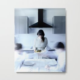 Nervous breakdown of an ordinary housewife Metal Print
