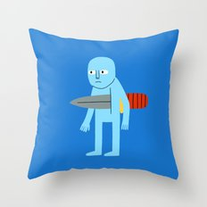 Knife Throw Pillow