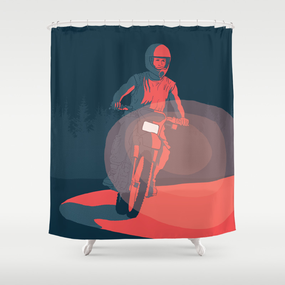 The Place Beyond The Pines Shower Curtain by Thejunkers CTN7888238