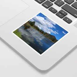 Sprague Lake Reflection Sticker