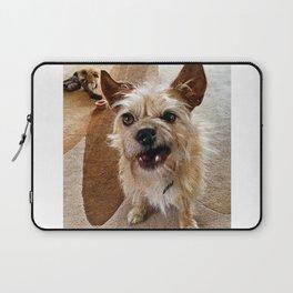 Grumpy Dog Laptop Sleeve
