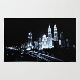 Kuala Lumpur night Rug