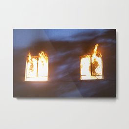 Ablaze  Metal Print
