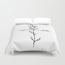 Philippians 4:13 Cross Duvet Cover
