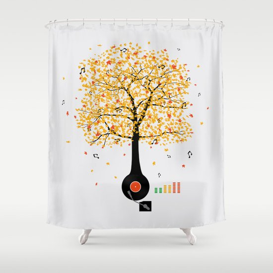 Sounds of Nature Shower Curtain