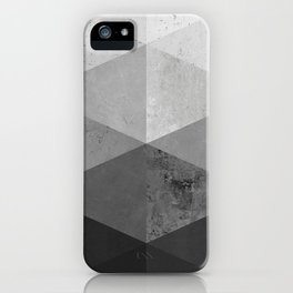 Solid marble VI iPhone Case
