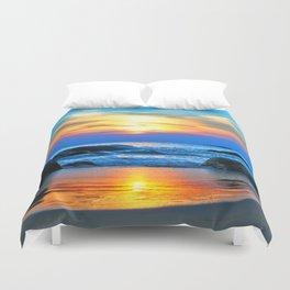 Sea Rocks 777 Duvet Cover