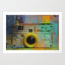 Fisher Price Camera Art Print