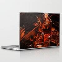 whiskey Laptop & iPad Skins featuring Whiskey by Esra Meral Demircan