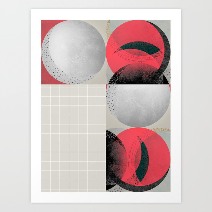graphic 39 Art Print