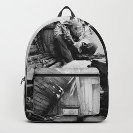 barrel sauna stories Backpack