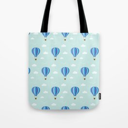 Zooming through the air Tote Bag