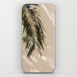 tropical palm leaves vi iPhone Skin