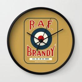 RAF Brandy Wall Clock