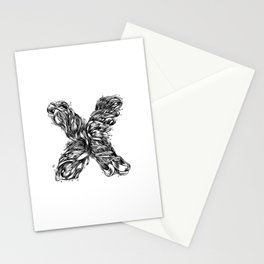 The Illustrated X Stationery Cards