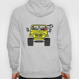 Jeep Wave Girl - Yellow Hoody
