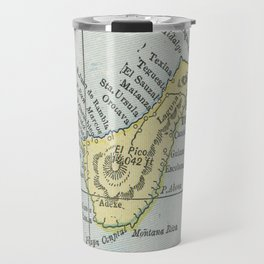 Vintage Tenerife Island Map (1901) Travel Mug
