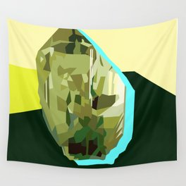 Olive Gem Wall Tapestry