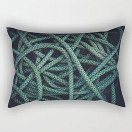 CLIMBING ROPE TEXTURE Rectangular Pillow