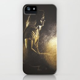 A heart of gold and boots to match (Harry Styles) iPhone Case