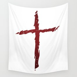 Rugged Cross Wall Tapestry