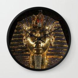 KingTut20150901 Wall Clock