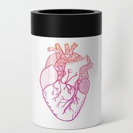 Designer Heart Can Cooler