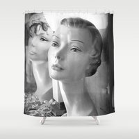 grace Shower Curtains featuring Grace by Jon Cain