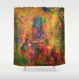 Flowers: Multi Color Daisies Shower Curtain