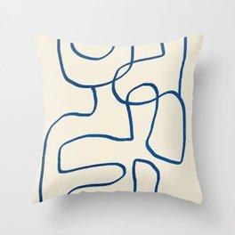 Abstract line art 16 Throw Pillow