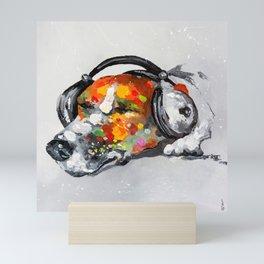 Blues for dog Mini Art Print