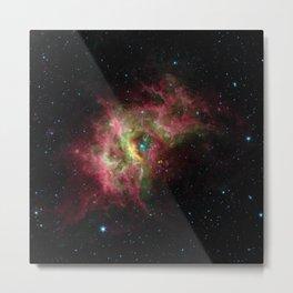 Nebula RCW 49, Milky Way in southern constellation Centaurus Telescopic Photograph Metal Print