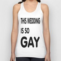 humor Tank Tops featuring Gay Humor by quality products