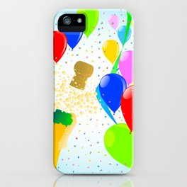 Balloon Party iPhone Case