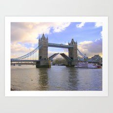Tower Bridge #2 Art Print
